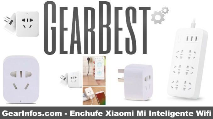 Enchufe Xiaomi Mi Inteligente Wifi